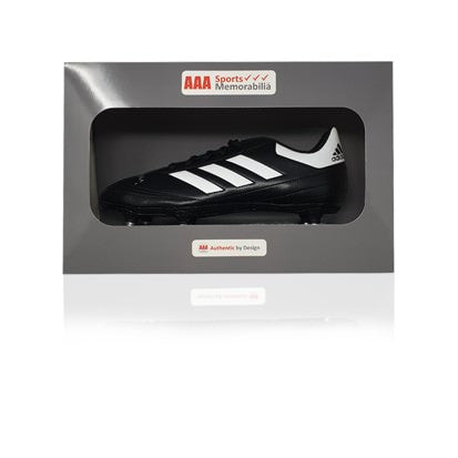 David Johnson Hand Signed Adidas Football Boot in AAA Gift Box