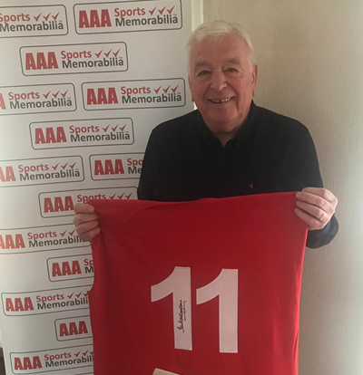 Ian Callaghan Signed #11 'European Cup Winners' Commemorative Presentation in Deluxe Classic Frame