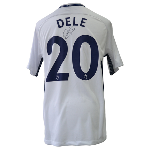 Dele Alli Back Signed Tottenham Hotspur Home Shirt
