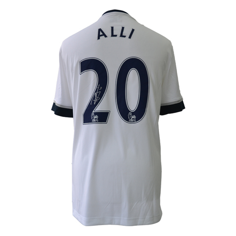 Dele Alli Back Signed Tottenham Hotspur 2015-16 Home Shirt