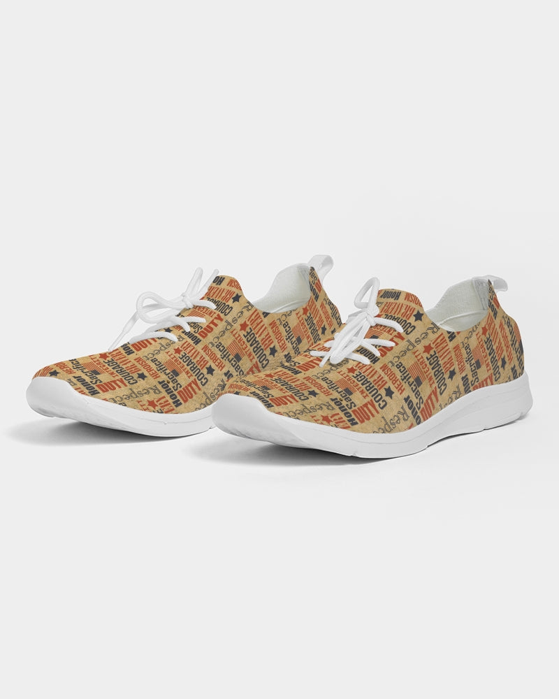 Military Spirit Men's Lace Up Flyknit Shoe