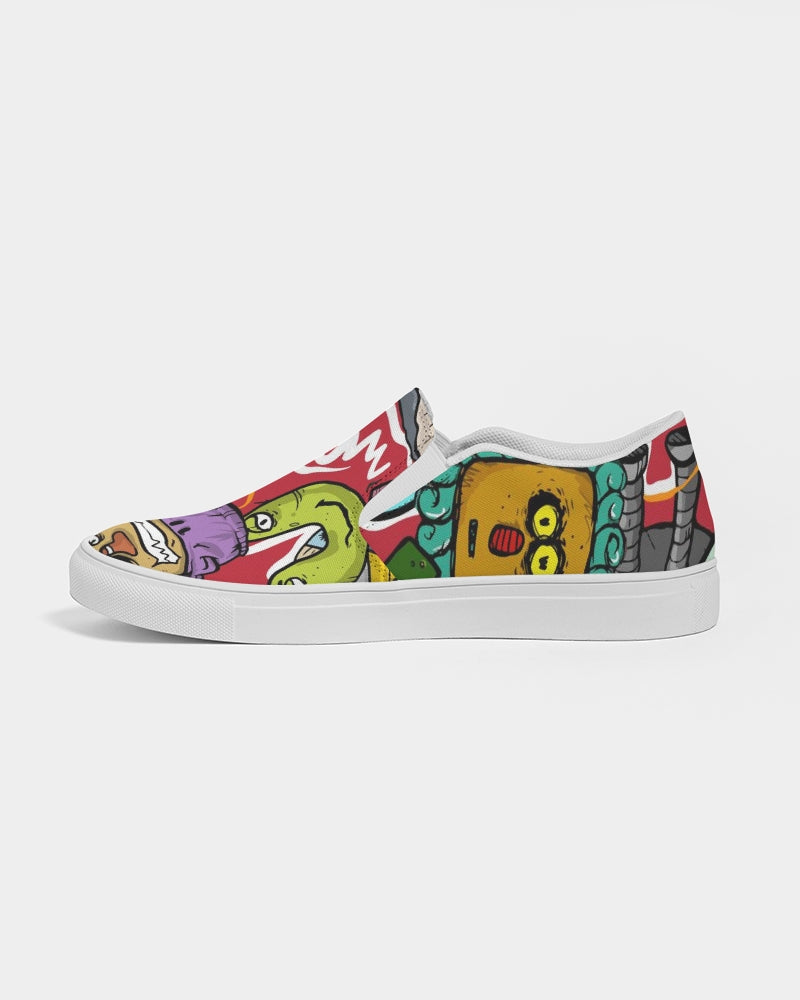Look At My Face Men's Slip-On Canvas Shoe