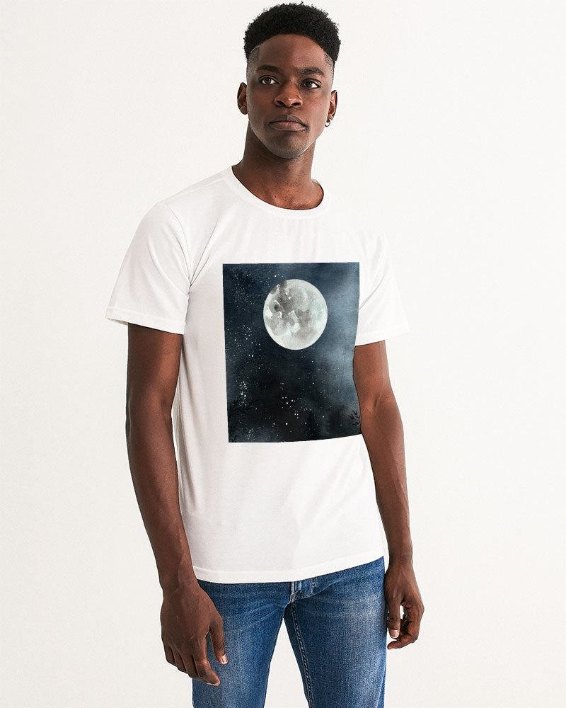 The Moon Night Men's Graphic Tee