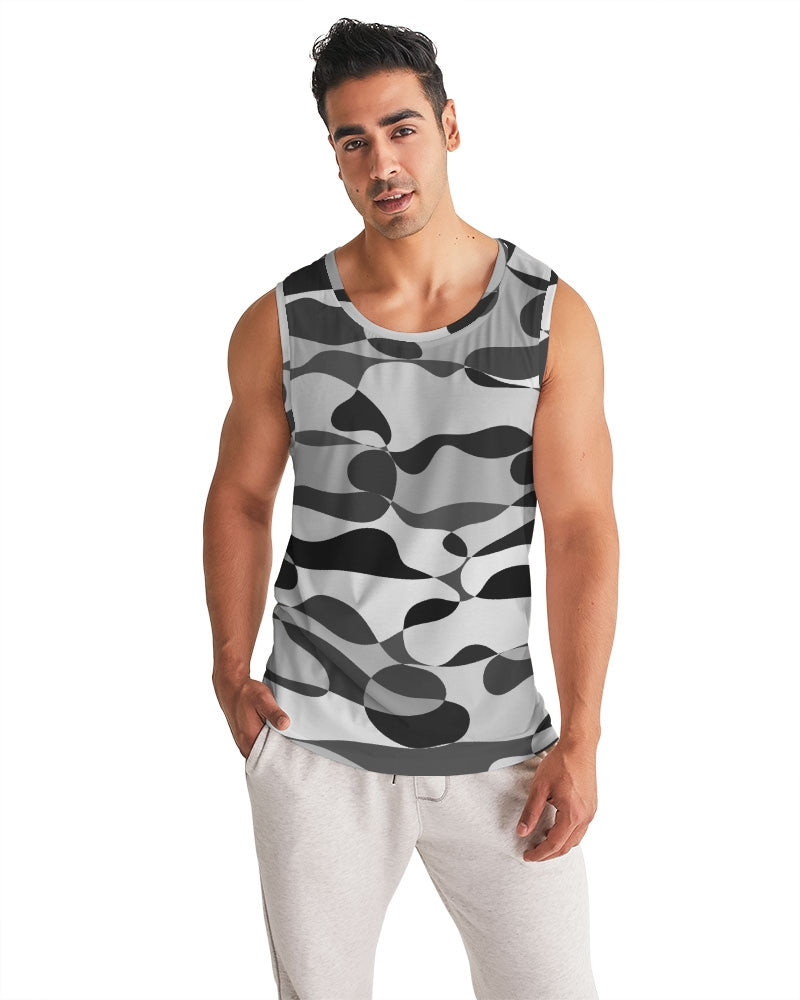 Snow Mountain Men's Sports Tank