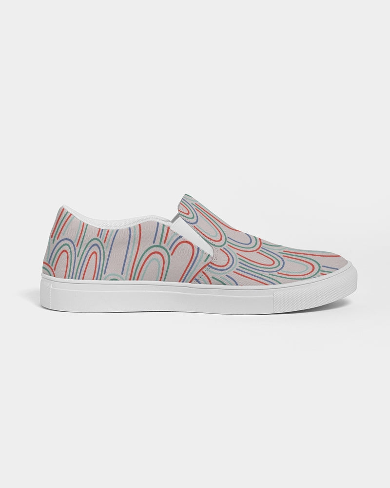 Feathers Men's Slip-On Canvas Shoe