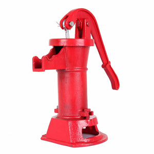 (Ship from USA) Hand Pump Cast Iron Well Water Pitcher Press Suction Outdoor Yard Ponds Garden