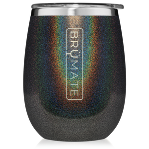 Open image in slideshow, BruMate Uncork'd XL Wine Tumbler (Glitter)