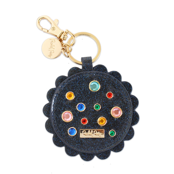 Picture Perfect Scalloped Keychain