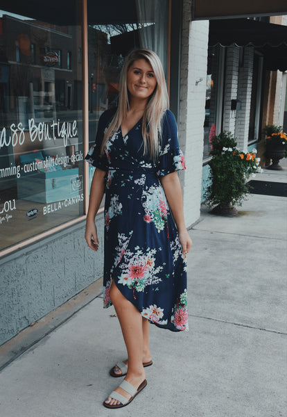 Save Me A Seat Floral Dress
