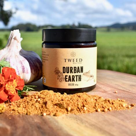 Tweed Real Food-Durban Earth Curry Rub (60g)