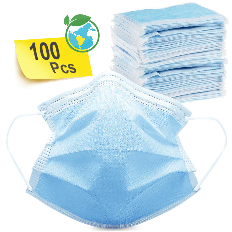 Miel Mask Medical Disposable Multi-Purpose Face Mask 100 pack - mbrbproducts
