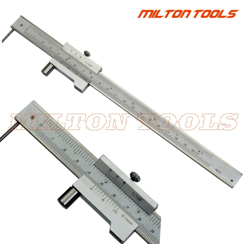 0-200mm Marking Vernier Caliper With Carbide Scriber needle Parallel Marking Gauging Ruler 2020 - mbrbproducts