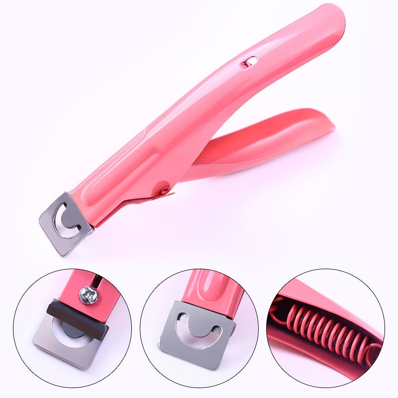 1 Pc Nail Cuticle Cutter Clipper Edge Dead Skin Remover False Tips Pink Purple Black Nail Art  2020 - mbrbproducts