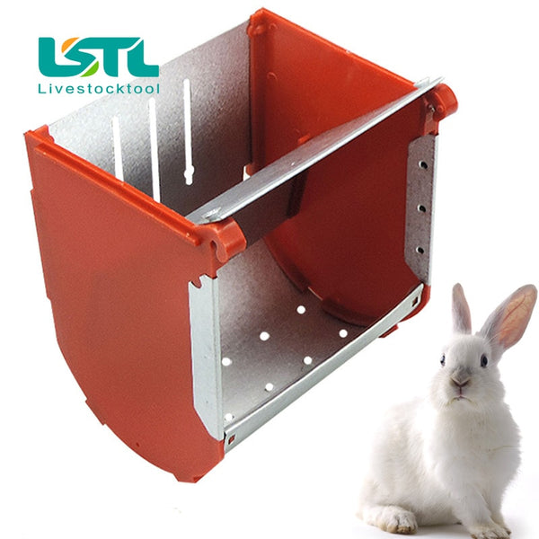 1Pcs Rabbit Feeder Feeding Box Cage Pet Farming Tools Bunny Rabbits Hamster 2020 - mbrbproducts
