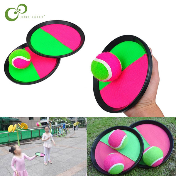 1Set Kids Sucker Sticky Ball Toy Outdoor Sports Catch Ball Game Set Throw And Catch 2020 - mbrbproducts