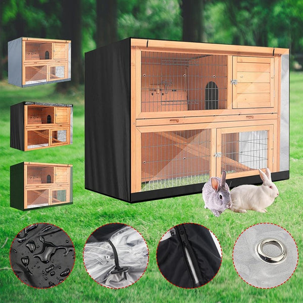 210D Oxford Rabbit Hutch Cover Pet Cat Dog Crate Cover Breathable Waterproof 2020 - mbrbproducts