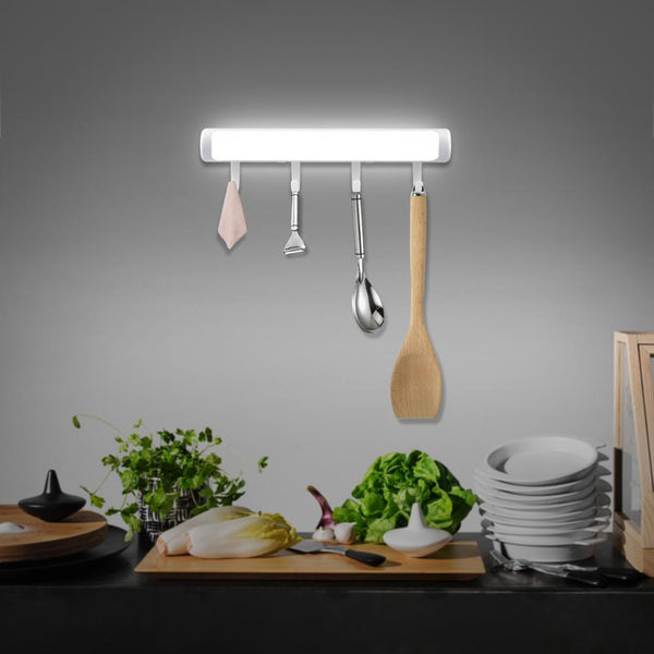 22.2cm Kitchen Appliances Rack Hook With Motion Sensor LED Light Kitchen Cabinet Lighting Lamp 2020 - mbrbproducts
