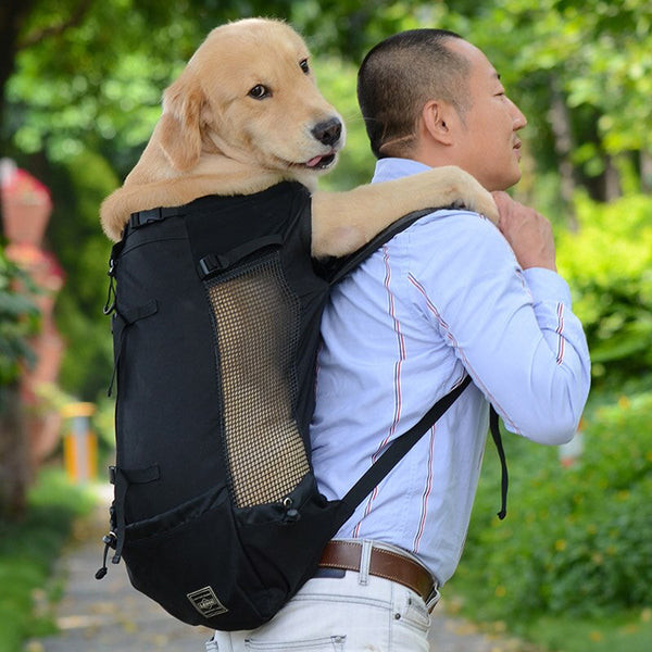 Pet Dog Outdoor Travel Backpack For Hiking Cycling Reflective Carrier Bag For Dogs 2020 - mbrbproducts