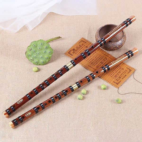 Bamboo Flute Musical Instruments Chinese Dizi Transversal - mbrbproducts