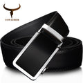 Automatic Buckle Metal Belt For Men Leather High Grade Fashion Style Men Belt - mbrbproducts