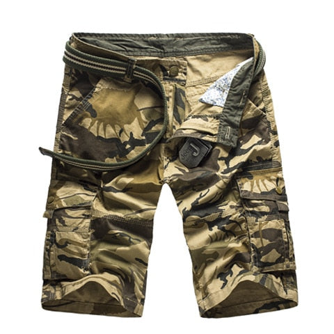 Shorts Men 2020 New Mens Casual Shorts Male Loose Work Shorts Man Military Short Pants  2020 - mbrbproducts