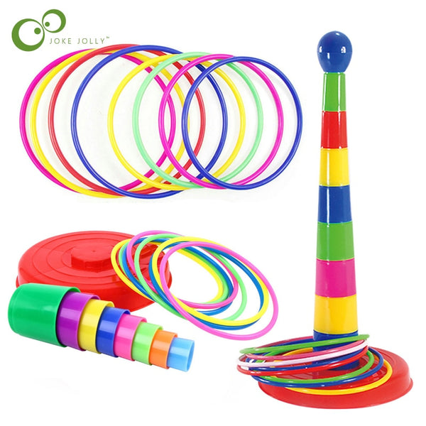 Children Outdoor Fun & Toy Sports Circle Ferrule Stacked Layers Game Parent-Child 2020 - mbrbproducts