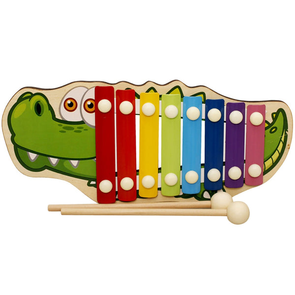 Eight-Tone Piano Early Education Toy Baby Kid Musical Wooden Xylophone Musical Talent Cultivate Safe Toys 2020 - mbrbproducts