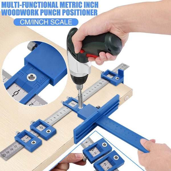 Furniture Adjustable Drilling Dowelling Hole Saw Locator Woodworking Joinery Hand Tool 2020 - mbrbproducts