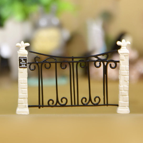 Gate Fence Miniature Fairy Garden Decoration Houses Craft Micro Landscaping Decor Home Decoration DIY Accessories 2020 - mbrbproducts