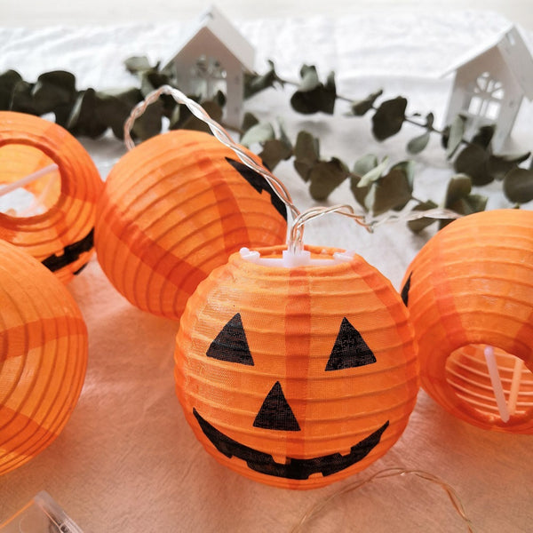 Halloween DIY Decoration Festival Lantern Pumpkin String Lights Halloween Ghost 2020 - mbrbproducts