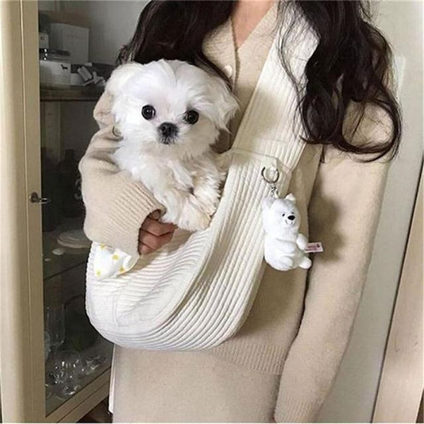 Pet Dog Carrier Outdoor Travel Handbag Canvas Single Shoulder Bag Sling 2020 - mbrbproducts