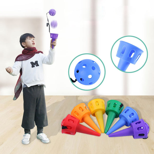 Kids Kindergarten Catching Ball Toys Outdoor Sports Toys Training Interaction Game Ball 2020 - mbrbproducts