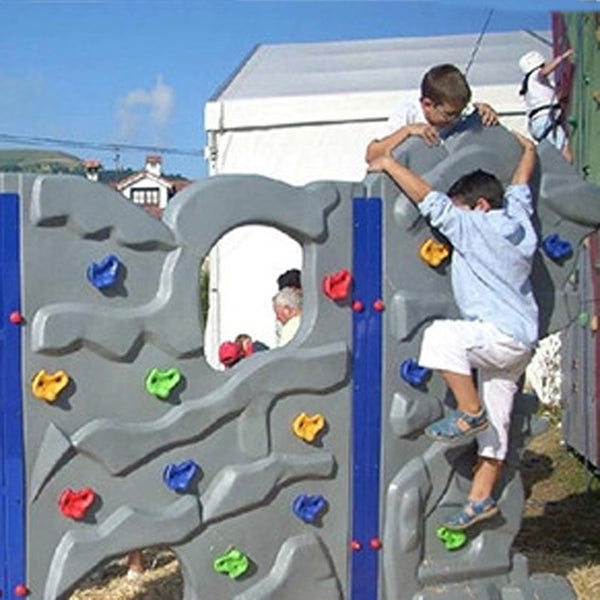Kids Outdoor Indoor Playground Plastic Rock Climbing Holds Wall Set Tool 2020 - mbrbproducts