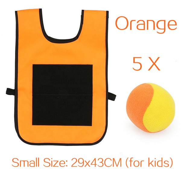 Kids Outdoor Sport Game Props Vest Sticky Jersey Vest Game Vest Waistcoat With Sticky - mbrbproducts