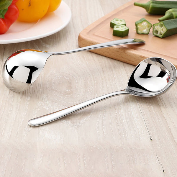 New Stainless Steel Thickening Spoon Ladle Home Kitchen Essential Tools 2020 - mbrbproducts