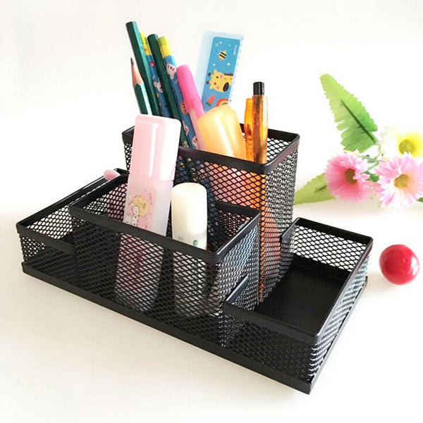 Metal Stand Mesh Cube Combination Holder Study Storage Desk Desktop Accessories Stationery Organizer 2020 - mbrbproducts