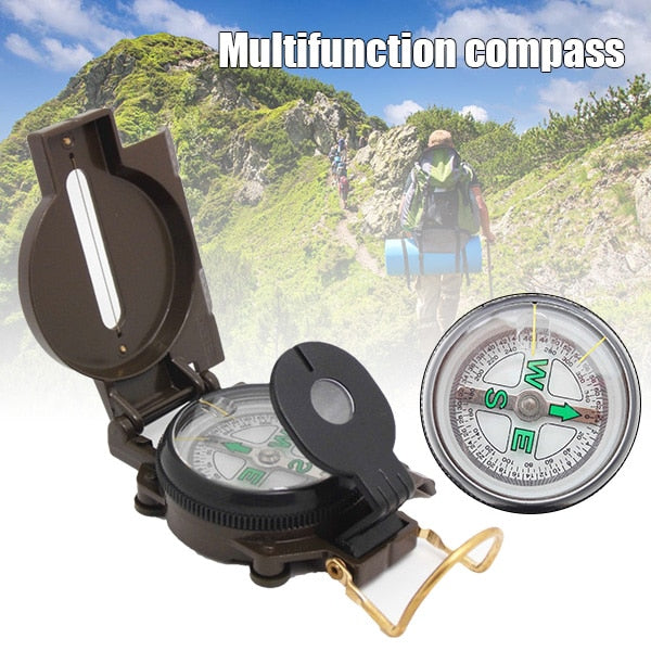 Multifunctional Portable Compass Camping Hiking Survival Spare Parts Metal Compass YS-BUY 2020 - mbrbproducts
