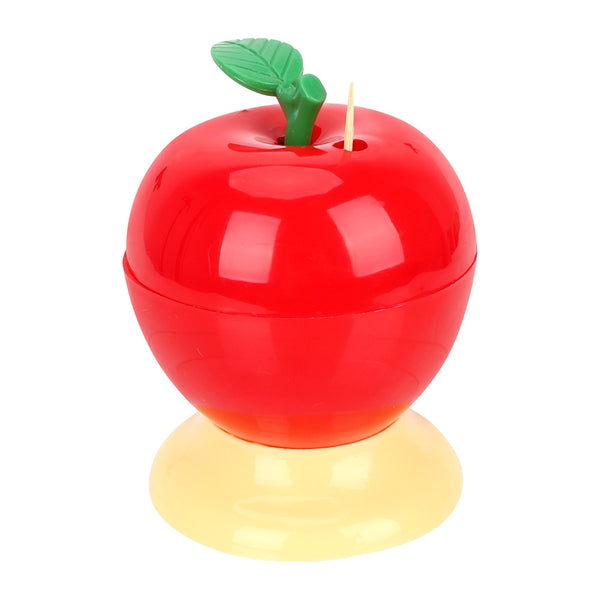 NICEYARD Automatic Toothpick Box Toothpick Holder Fruit Apple Shape Press Type Plastic Home Decoration 2020 - mbrbproducts