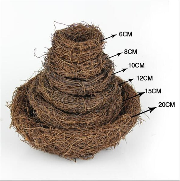 Nature 6/8/10/12/15/20cm Bird Cage Creative for Optical Store Bird Nest New style 2020 - mbrbproducts
