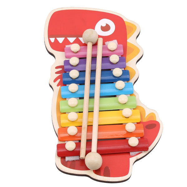 New Baby Animal Xylophon Toys Children Early Music Instrument Toy Hand Knock Music Instruments Piano 2020 - mbrbproducts