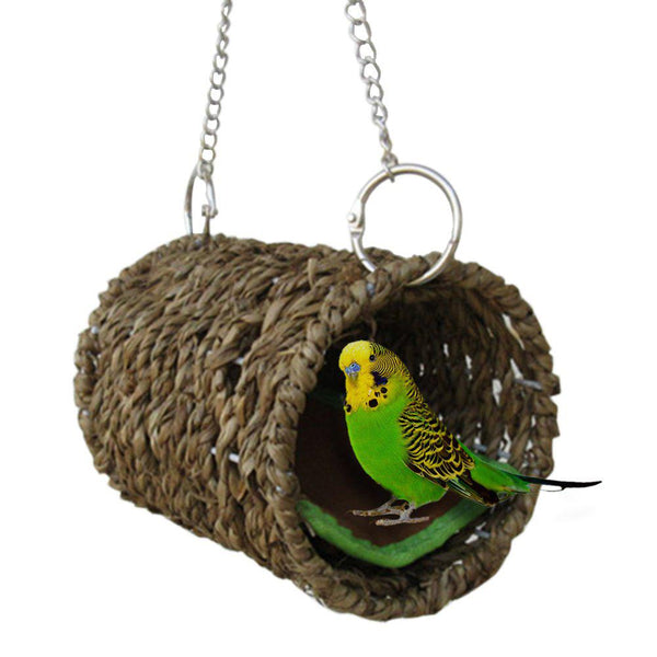New Parrot Nest bird Cage Warm Winter Birds Cage Bed Toys parrot cage Ornament Decoration - mbrbproducts