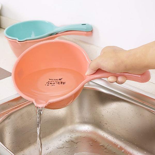Plastic Bathing Ladle Spoons Kitchen Accessories Bathroom Kids Shampoo Bath Spoon - mbrbproducts