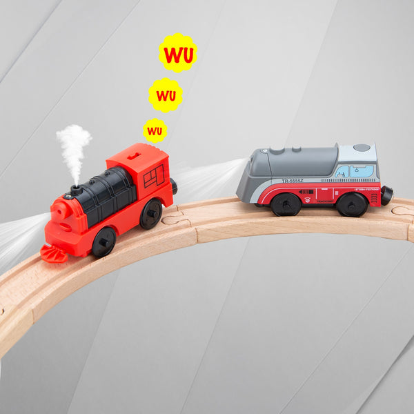 NEW Train Set for Wooden Track Railway Compatible With BRIO And Main Brand Track 2020 - mbrbproducts