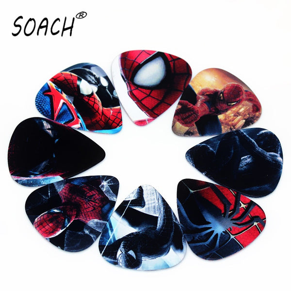 SOACH 10PCS 0.46mm 0.71mm 1.0mm high quality guitar picks two side pick DIY Mix guitar 2020 - mbrbproducts