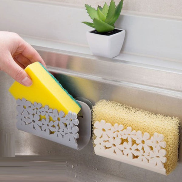 Sink Side Shelf Sponge Storage Rack Bathroom Shower Towel Storage Soap Dish Holder Dishwashing 2020 - mbrbproducts