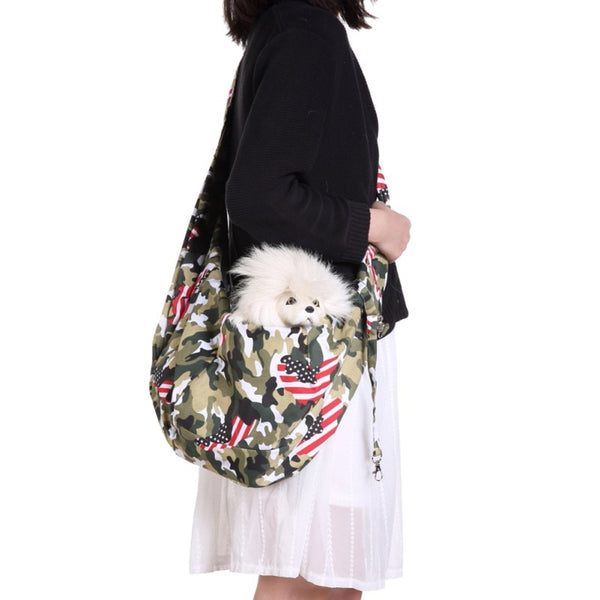 Small Dog Cat Sling Carrier Bag Travel Carry Tote Handbag 2020 - mbrbproducts