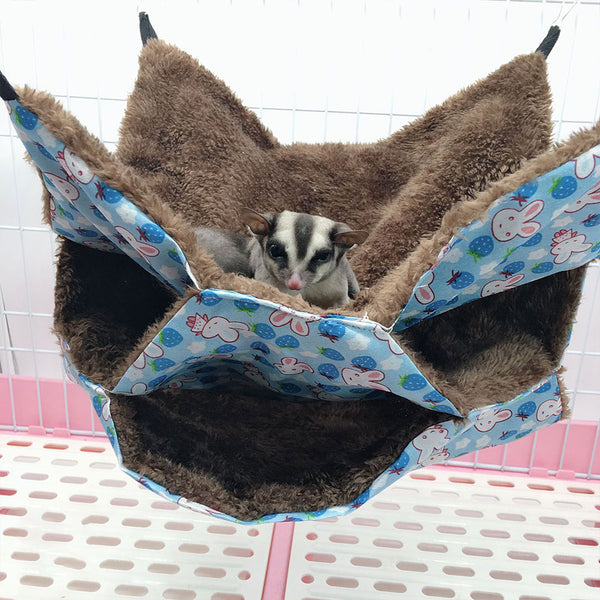 Rabbit Suspended Nest Bed Small Pet Toy Cute Comfortable Bird Cage Sleep 2020 - mbrbproducts