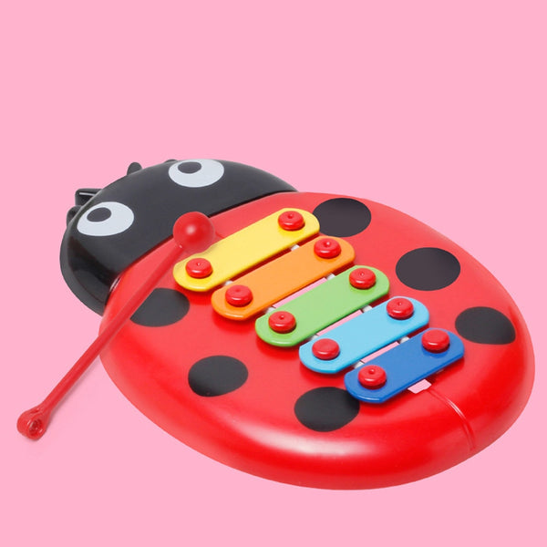 kids toys Colorful Ladybird Baby 8-Note Xylophone Musical Toys Wisdom Development birthday gifts 2020 - mbrbproducts