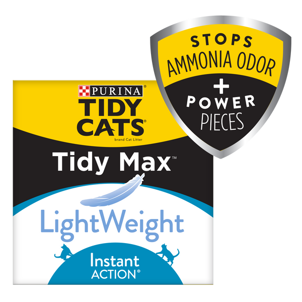 Purina Tidy Cats LightWeight Cat Litter, TidAction Multi Cat Litter - 17 lb. Box - mbrbproducts