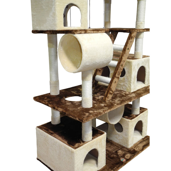 Cat Tree Condo House Furniture 87.5 inch - mbrbproducts